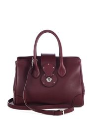 Ralph Lauren Collection - Red Small Ricky Tote - Lyst