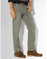 Polo Ralph Lauren | Natural 5pocket Vintage Chinos for Men | Lyst