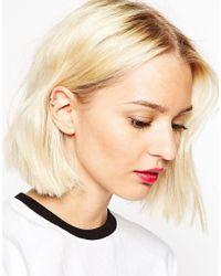ASOS | Metallic Limited Edition Arrow Anywhere Ear Cuff | Lyst