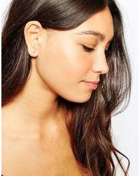 Pieces | Metallic & Julie Sandlau Sterling Silver Jea Arrow Stud Earrings | Lyst