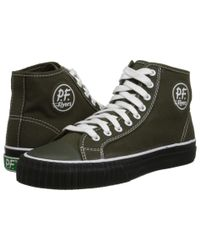 PF Flyers - Green Center Hi for Men - Lyst