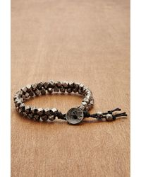 Forever 21 | Black Ettika Double-faceted Bead Bracelet for Men | Lyst