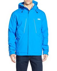 Helly Hansen | Blue 'progress' Ski Jacket for Men | Lyst
