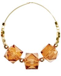 H&M Metallic Large Earrings