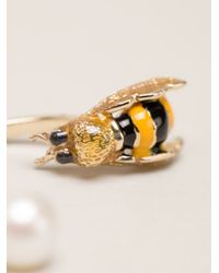 Delfina Delettrez - Metallic 'to Bee Or Not To Bee' Earring - Lyst