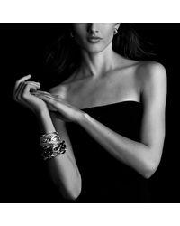 David Yurman - Black Oval Extra Large Link Bracelet - Lyst