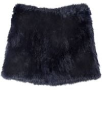 Yves Salomon | Purple Fur Snood | Lyst