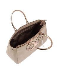 Versace Jeans | Natural Handbag | Lyst