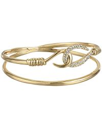 Alexis Bittar - Metallic Orbiting Hook Bangle - Lyst