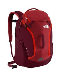 The North Face Red 'big Shot' Backpack for men