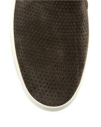Via Spiga | Natural Galea 5 Leather Slip-on Sneakers | Lyst