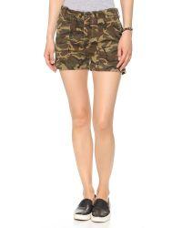 NLST - Green Utilty Shorts - Camo - Lyst