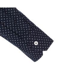 Paul Smith   Blue Men's Tailored-fit Navy 'mini Floral' Print Shirt for Men   Lyst