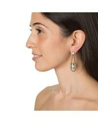 Auden | Metallic Hayden Drop Earrings | Lyst