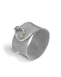 John Hardy - Metallic Legends Naga Mesh Bracelet - Lyst