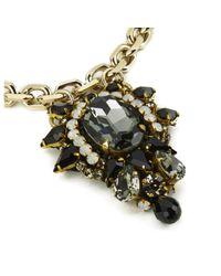 Matthew Williamson | Metallic Opulent Jewel Chain Necklace | Lyst