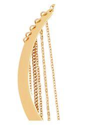 H&M Metallic Choker With Chains
