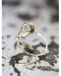 Free People - Metallic Light Above Light Below Ring - Lyst