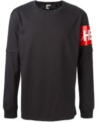 Hood By Air - Black Long Sleeve T-Shirt for Men - Lyst