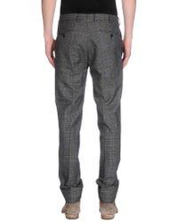 Boglioli | Gray Casual Trouser for Men | Lyst