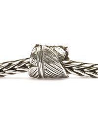 Trollbeads - Metallic Feather Bead - Lyst