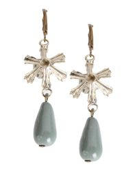 Erika Cavallini Semi Couture | Gray Earrings | Lyst