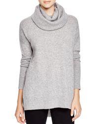 Diane von Furstenberg | Gray Ahiga Cashmere Turtleneck Sweater | Lyst