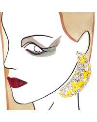 Shourouk - Yellow Banana Earrings - Lyst