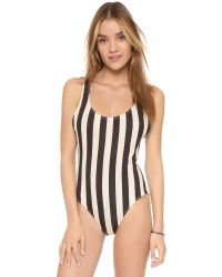Solid & Striped - Black Anne Marie One Piece Swimsuit - Lyst