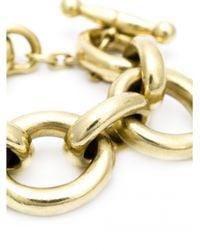 Vaubel | Metallic Large Link Oval Bracelet | Lyst
