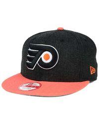 KTZ   Gray Philadelphia Flyers Heather Action 9fifty Snapback Cap   Lyst