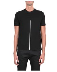 CoSTUME NATIONAL - Black Cotton Jersey T-shirt for Men - Lyst