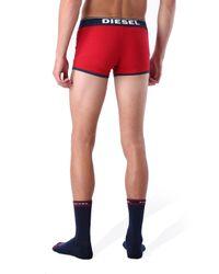 DIESEL - Red Umkit-Boxersocks for Men - Lyst