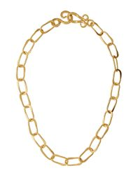Stephanie Kantis | Metallic Oval Link Necklace | Lyst