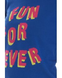 Markus Lupfer - Blue Fun Forever Natalie Cardigan - Lyst