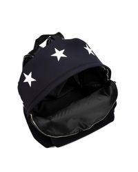 Givenchy Black Neoprene Backpack for men