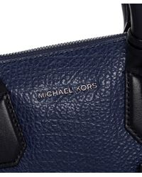 MICHAEL Michael Kors | Blue Campbell Satchel Bag | Lyst