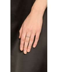 Aurelie Bidermann | Metallic Silver Star Ring - Silver | Lyst
