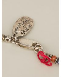 Aaron Jah Stone Multicolor Arusha Necklace