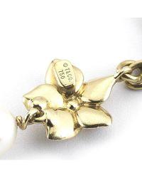 Tiffany & Co. - Metallic Pre-Owned: 18Ky Pearl Bracelet - Lyst