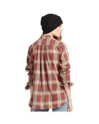 Denim & Supply Ralph Lauren - Brown Flannel Utility Shirt - Lyst
