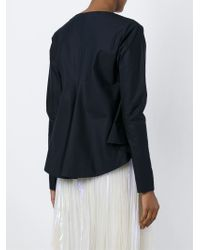 Marni | Blue Boat Neck Blouse | Lyst