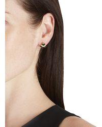 Iosselliani - Metallic 18Kt Gold-Plated Ring And Fan Earrings - Lyst