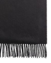 Johnstons | Black 100% Cashmere Solid Scarf for Men | Lyst