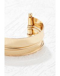 Forever 21 | Metallic Cutout Stacked Cuff | Lyst