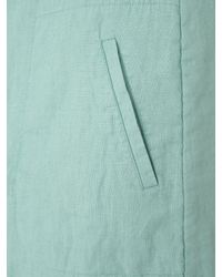 Jigsaw Green Medium Weight Linen Shift Dress