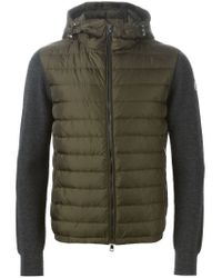 Moncler - Gray Padded Jacket for Men - Lyst