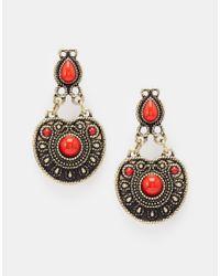 ASOS Red Traveller Earrings
