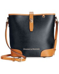 Dooney & Bourke | Blue Claremont Crossbody Bucket | Lyst