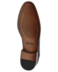 Steve Madden Black Lewwy Oxfords for men